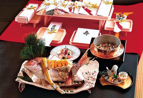 Cuisine, Meal, Dish, Food, Brunch, Comfort food, Kaiseki, Osechi, À la carte food, Tableware,