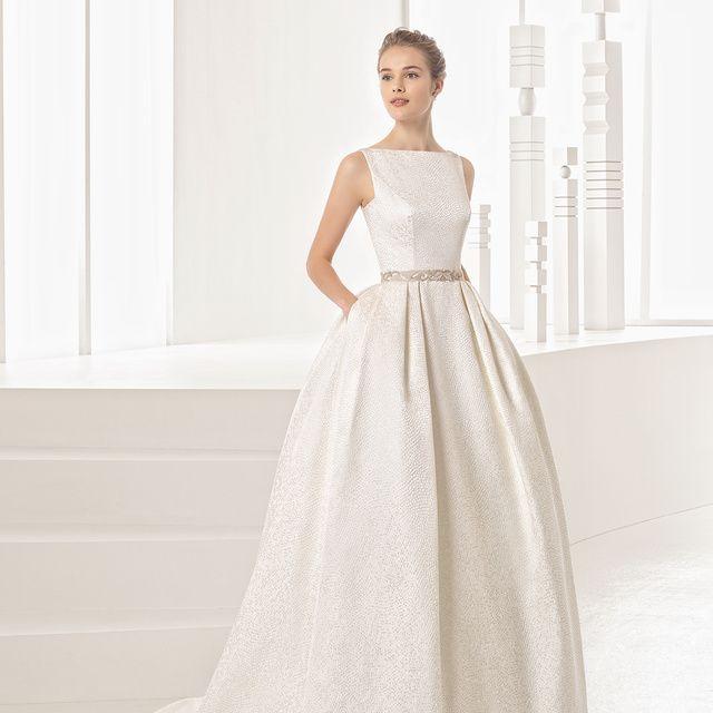 Gown, Wedding dress, Clothing, Dress, Fashion model, Bridal party dress, Bridal clothing, Shoulder, Photograph, A-line,