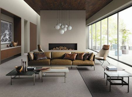 Living room, Furniture, Room, Interior design, Property, Couch, Table, Coffee table, Building, Wall,