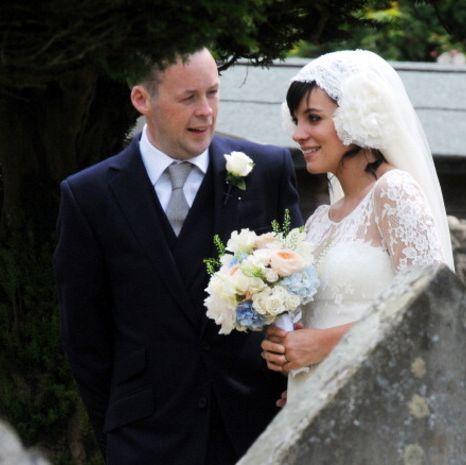 Bride, Wedding dress, Photograph, Veil, Gown, Bridal clothing, Ceremony, Wedding, Bridal veil, Facial expression,
