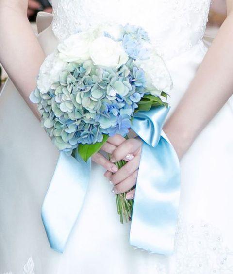 Bouquet, Blue, Flower, Photograph, Cut flowers, Plant, Aqua, Bride, Flower Arranging, Rose,