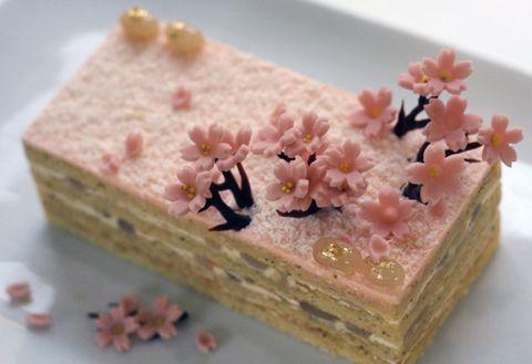 Food, Dish, Cuisine, Semifreddo, Ingredient, Dessert, Taro cake, Recipe, Sekihan, Mousse,