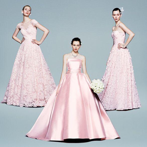 Gown, Clothing, Fashion model, Dress, Shoulder, Pink, Bridal party dress, A-line, Fashion, Neck,