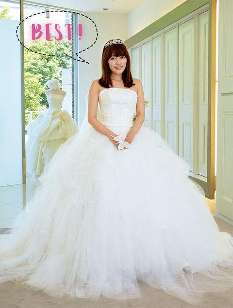 Gown, Wedding dress, Dress, Clothing, Bride, Bridal party dress, Bridal clothing, Shoulder, Photograph, Strapless dress,