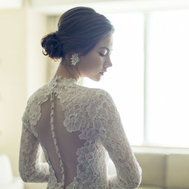 Clothing, Dress, White, Shoulder, Neck, Fashion, Sleeve, Gown, Formal wear, Bridal party dress,