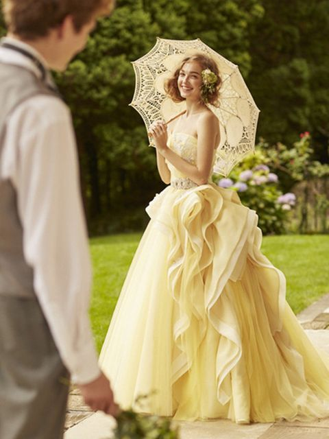 Gown, Wedding dress, Dress, Bride, Clothing, Bridal clothing, Bridal accessory, Bridal party dress, Veil, Wedding ceremony supply,