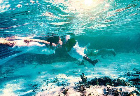 Water, Underwater, Sky, Ocean, Sea, Wave, Snorkeling, Swimming, Recreation, Wind wave,
