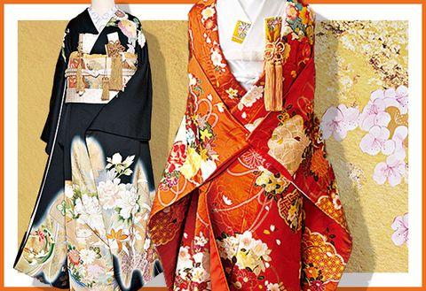 Clothing, Kimono, Costume, Outerwear, Formal wear, Textile, Costume design, Fashion design, Tradition, Sleeve,