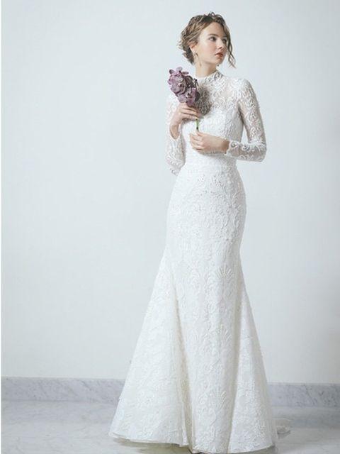 Gown, Clothing, Wedding dress, Dress, White, Fashion model, Shoulder, Bridal clothing, Bridal party dress, Photograph,