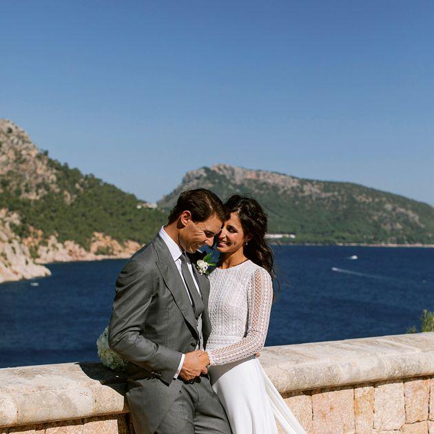 Photograph, Wedding dress, Bride, Bridal clothing, Wedding, Suit, Dress, Honeymoon, Gown, Ceremony,