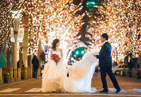 Photograph, Bride, Decoration, Ceremony, Marriage, Wedding, Event, Dress, Wedding reception, Wedding dress,
