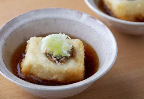 Dish, Food, Cuisine, Ingredient, Dessert, Produce, Agedashi tofu, Comfort food,