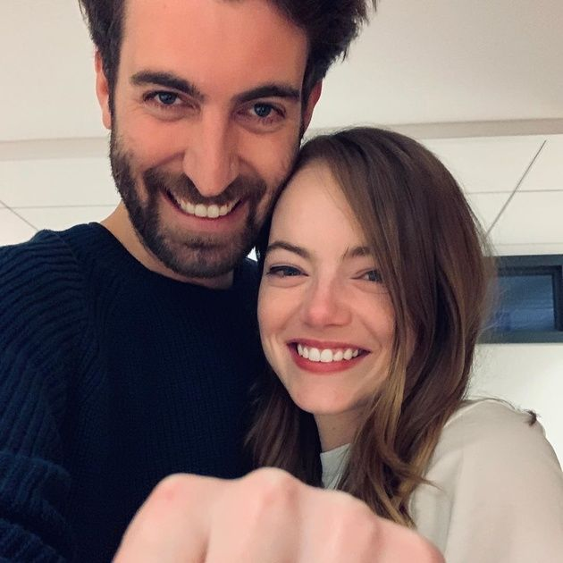 Face, Hair, Facial expression, Selfie, Eyebrow, Smile, Beauty, Love, Friendship, Engagement ring,