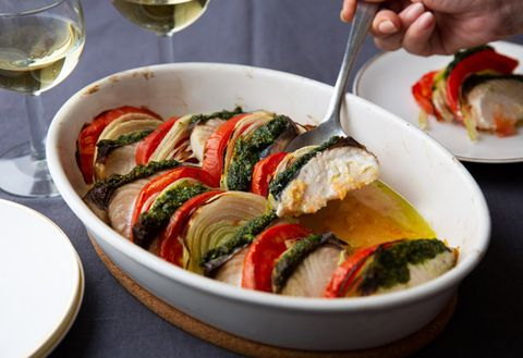 Dish, Food, Cuisine, Ingredient, Vegetarian food, Ratatouille, Produce, Vegetable, Rollatini, Recipe,