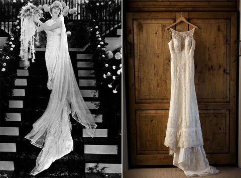 Wedding dress, Gown, Dress, Clothing, Photograph, Bridal clothing, Bridal party dress, Fashion model, Formal wear, Bride,