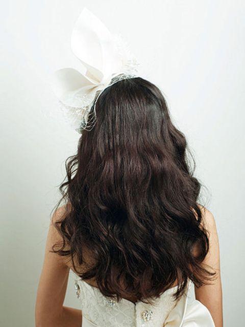 Clothing, Hair, Hairstyle, Shoulder, Style, Long hair, Back, Beauty, Brown hair, Hair coloring,