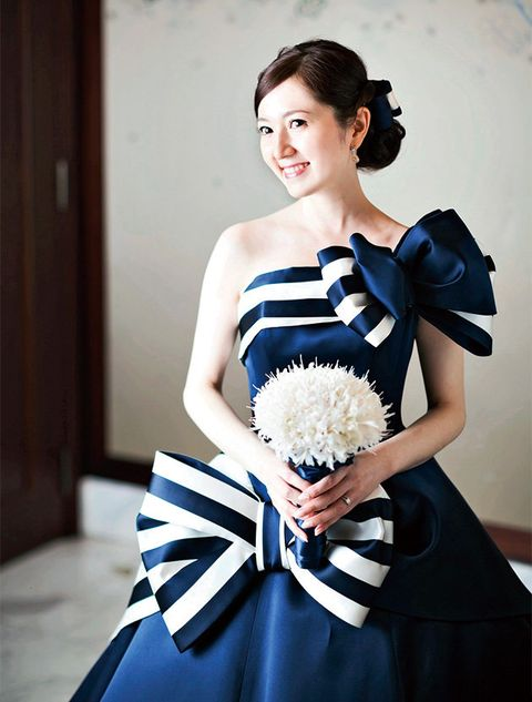 White, Clothing, Dress, Shoulder, Blue, Formal wear, Fashion, Gown, Black-and-white, Cocktail dress,