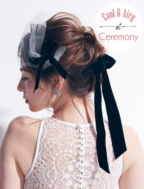 Hair, Hairstyle, Headpiece, Hair accessory, Beauty, Chignon, Bridal accessory, Bun, Long hair, Dress,