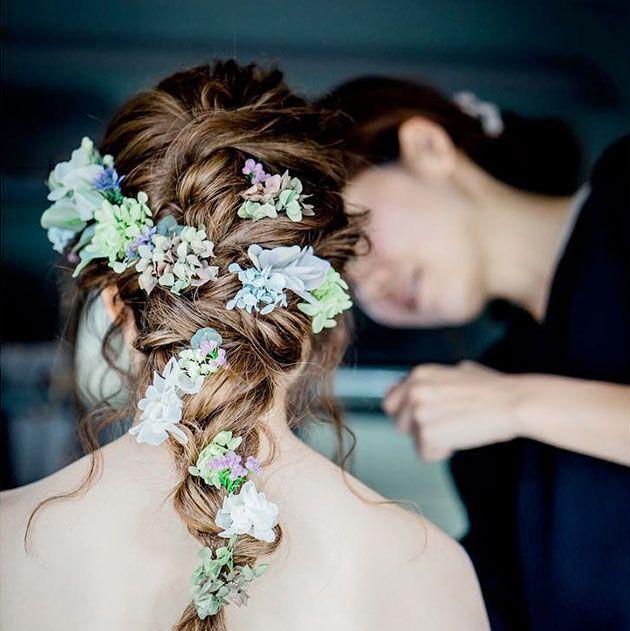 instagramで見つけた! 妖精のような編み込みヘア・カタログ