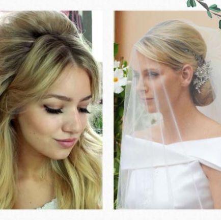 ショートヘア&ロングヘアのためのbest花嫁ヘアスタイル