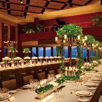 Function hall, Restaurant, Rehearsal dinner, Banquet, Resort, Building, Room, Interior design, Event, Party,