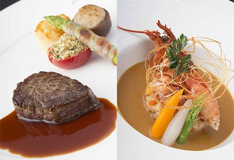 Dish, Food, Cuisine, Ingredient, À la carte food, Produce, Meat, Recipe, Tournedos rossini, Garnish,