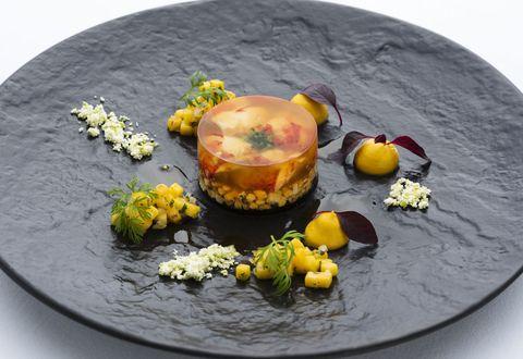 Food, Dish, Cuisine, Vegetarian food, Ingredient, Plate, Still life photography, Garnish, Recipe, Dessert,