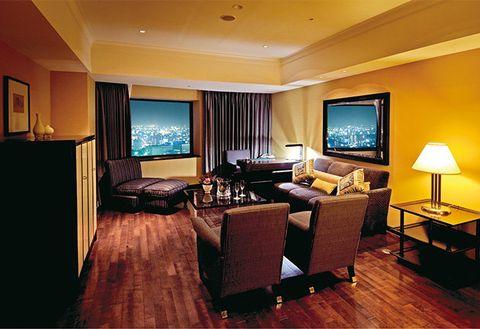 Room, Interior design, Living room, Furniture, Property, Building, Suite, Ceiling, Floor, Hardwood,