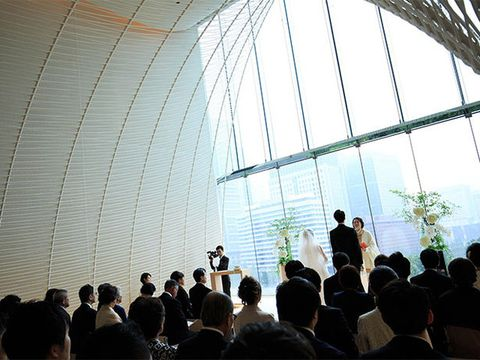 Ceremony, Daylighting, Transparent material, Greenhouse,