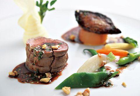 Food, Ingredient, Dishware, Culinary art, Tableware, Garnish, Cuisine, Serveware, Recipe, Plate,
