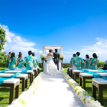Green, Dress, Leisure, Bridal clothing, Wedding dress, Teal, Bride, Ceremony, People in nature, Marriage,