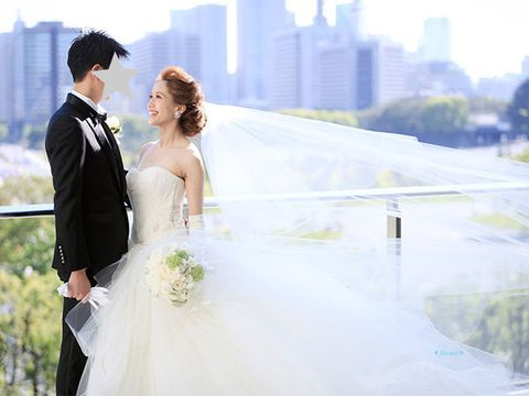 Wedding dress, Photograph, Bride, Gown, Dress, Bridal clothing, Clothing, Wedding, Ceremony, Formal wear,