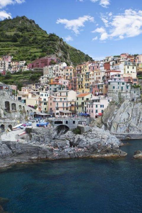 Town, Coast, Human settlement, Sea, Water, Tourism, Harbor, Village, Cliff, Coastal and oceanic landforms,