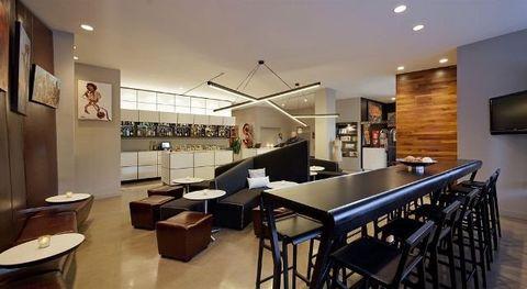 Interior design, Room, Building, Property, Restaurant, Furniture, Table, Café, Real estate, Cafeteria,