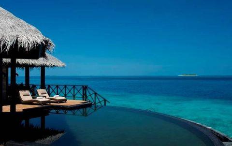 Blue, Sea, Sky, Vacation, Ocean, Turquoise, Tropics, Azure, Caribbean, Lagoon,
