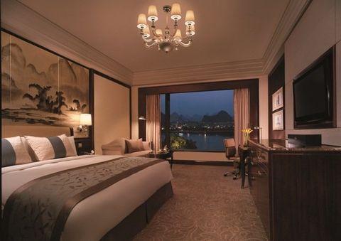 Room, Bedroom, Property, Interior design, Furniture, Building, Ceiling, Suite, Lighting, Bed frame,