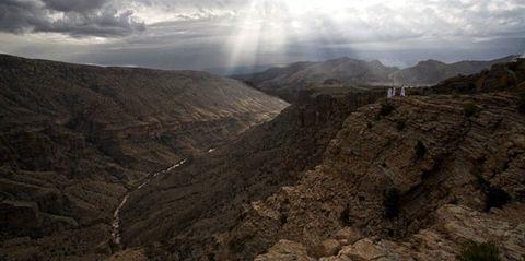 Mountainous landforms, Mountain, Highland, Sky, Geological phenomenon, Badlands, Wilderness, Canyon, Ridge, Wadi,
