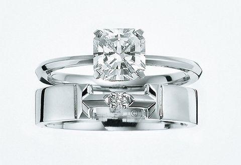 Ring, Engagement ring, Diamond, Platinum, Jewellery, Fashion accessory, Gemstone, Wedding ring, Metal, Pre-engagement ring,