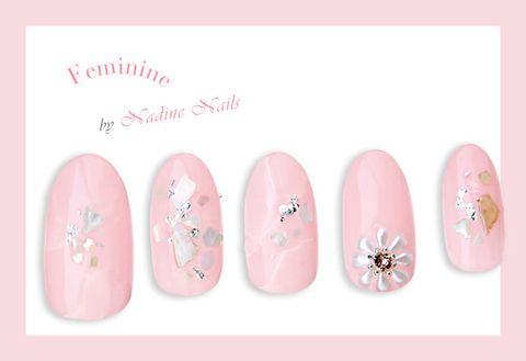 Nail, Pink, Nail care, Nail polish, Artificial nails, Material property, Manicure, Peach, Cosmetics, Finger,