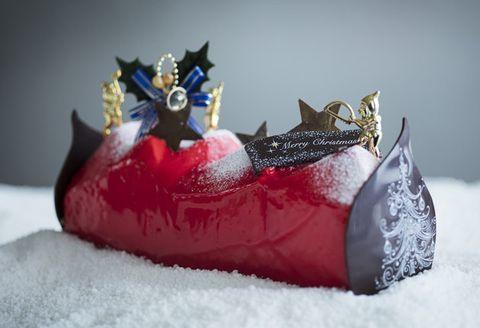 Red, Crown, Figurine, Snow, Fashion accessory,