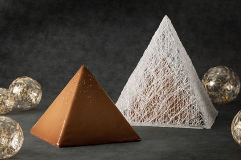 Pyramid, Cone, Triangle, Copper, Ornament, Rock, Metal,