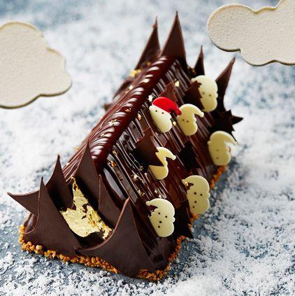 Chocolate cake, Chocolate, Cuisine, Dessert, Yule log, Food,