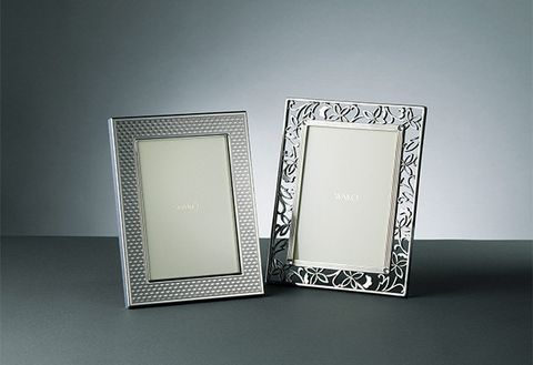 Picture frame, Rectangle, Mirror, Silver, Interior design, Metal, Square,