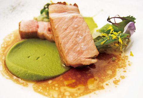 Food, Dish, Cuisine, Ingredient, Tataki, Produce, À la carte food, Meat, Kassler, Recipe,