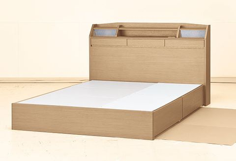Furniture, Box, Bed, Wood, Bed frame, Plywood, Drawer, Rectangle,