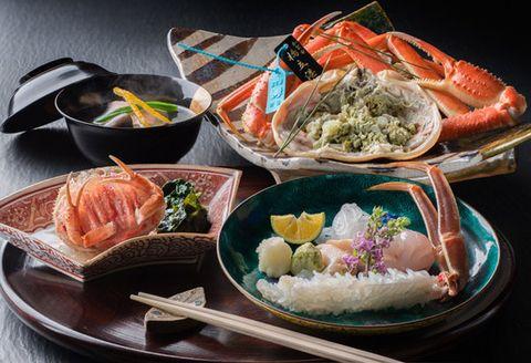 Dish, Food, Cuisine, Meal, Ingredient, Kaiseki, Comfort food, Seafood, Japanese cuisine, Lunch,