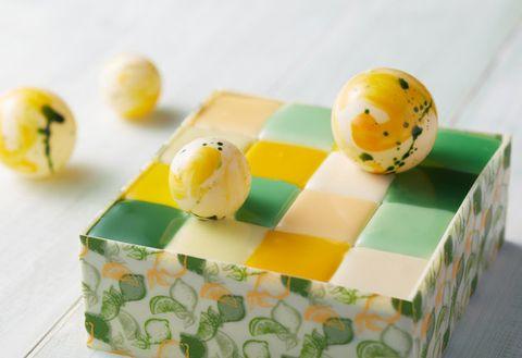 Yellow, Food, Petit four,