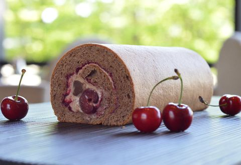 Food, Ingredient, Produce, Natural foods, Fruit, Bread, Still life photography, Cherry, Local food, Roulade,