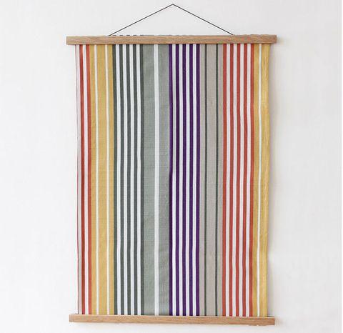 Orange, Curtain, Textile, Rectangle, Interior design,