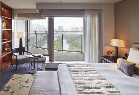 Furniture, Room, Bedroom, Property, Interior design, Bed, Building, Bed frame, House, Suite,